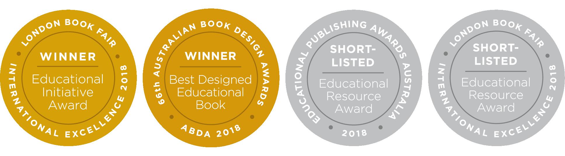 Images for best designed resource awards